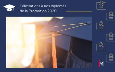 Félicitations diplômés promo 2020
