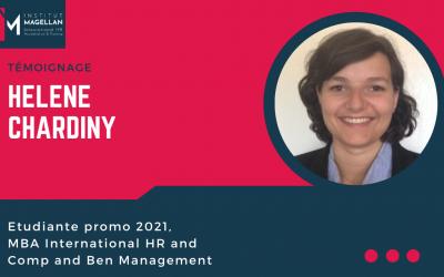 Témoignage Helene Chardiny MBA CB 2021